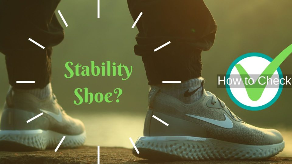 stable on shoe